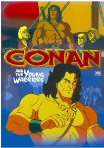 Conan e os Jovens Guerreiros - Poster / Capa / Cartaz - Oficial 1