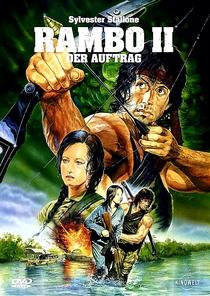Rambo II - A Missão - Poster / Capa / Cartaz - Oficial 3