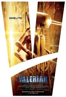 Valerian e a Cidade dos Mil Planetas - Poster / Capa / Cartaz - Oficial 12