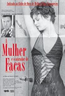 A Mulher e o Atirador de Facas - Poster / Capa / Cartaz - Oficial 3