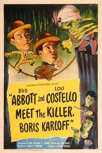Abbott e Costello Frente a Frente com Assassinos  - Poster / Capa / Cartaz - Oficial 1