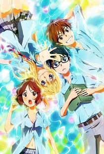 Shigatsu wa Kimi no Uso - Poster / Capa / Cartaz - Oficial 4