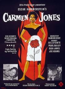Carmen Jones - Poster / Capa / Cartaz - Oficial 1