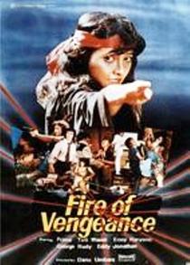 Fire of Vengeance - Poster / Capa / Cartaz - Oficial 1