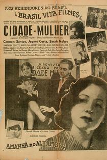 Cidade-Mulher - Poster / Capa / Cartaz - Oficial 1