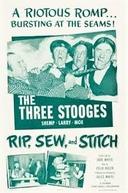 Os Três Patetas - Se a Moda Pega (The Three Stooges - Rip, Sew and Stitch)