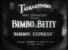 Betty Boop in Bimbo's Express (Betty Boop in Bimbo's Express)