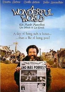 Um Mundo Maravilhoso - Poster / Capa / Cartaz - Oficial 1