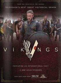 Vikings (1ª Temporada) - Poster / Capa / Cartaz - Oficial 2