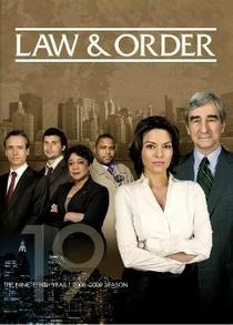 Lei & Ordem (19ª Temporada)  - Poster / Capa / Cartaz - Oficial 1