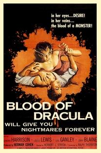 Blood of Dracula - Poster / Capa / Cartaz - Oficial 1