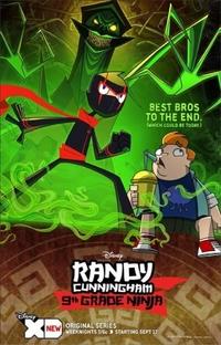 Randy Cunningham: 9th Grade Ninja (1ª Temporada) - Poster / Capa / Cartaz - Oficial 1