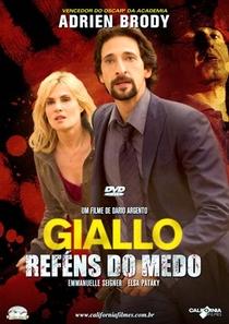 Giallo - Reféns do Medo - Poster / Capa / Cartaz - Oficial 3