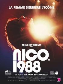 Nico, 1988 - Poster / Capa / Cartaz - Oficial 2