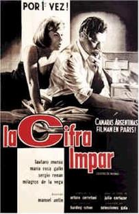La cifra impar - Poster / Capa / Cartaz - Oficial 1