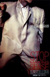 Stop Making Sense - Poster / Capa / Cartaz - Oficial 1