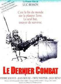 O Último Combate - Poster / Capa / Cartaz - Oficial 1