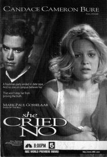 She Cried No - Poster / Capa / Cartaz - Oficial 1