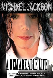 Michael Jackson - A remarkable life - Poster / Capa / Cartaz - Oficial 1