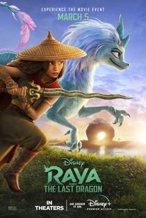 Raya e o Último Dragão - Poster / Capa / Cartaz - Oficial 3