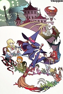 Little Witch Academia - Poster / Capa / Cartaz - Oficial 2