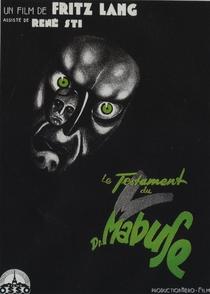 O Testamento do Dr. Mabuse - Poster / Capa / Cartaz - Oficial 7