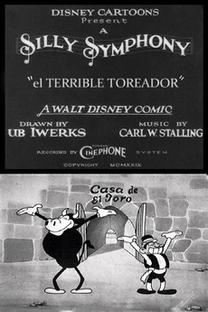 El Terrible Toreador - Poster / Capa / Cartaz - Oficial 1