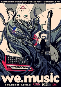 We Music - Como a web revoluciona a música? - Poster / Capa / Cartaz - Oficial 1