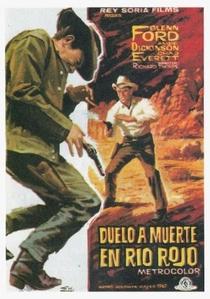 O Pistoleiro do Rio Vermelho - Poster / Capa / Cartaz - Oficial 3