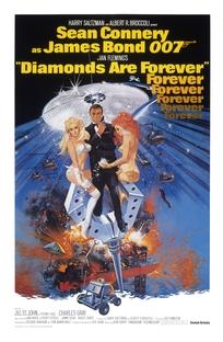 007 - Os Diamantes são Eternos - Poster / Capa / Cartaz - Oficial 1