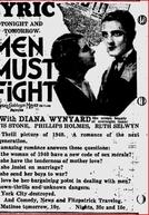 Lição ao Mundo (Men Must Fight)