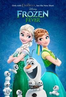 Frozen: Febre Congelante - Poster / Capa / Cartaz - Oficial 1
