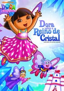 Dora salva o Reino de Cristal - Poster / Capa / Cartaz - Oficial 1