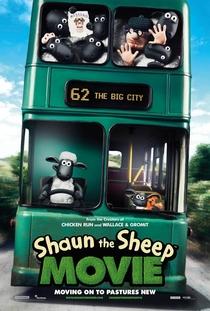 Shaun: O Carneiro - O Filme - Poster / Capa / Cartaz - Oficial 1