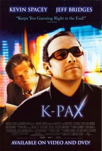 K-Pax - O Caminho da Luz - Poster / Capa / Cartaz - Oficial 4