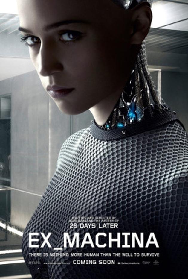 """Ex Machina: 1º trailer da ficção científica dirigida pelo roteirista de """"Dredd"""""""