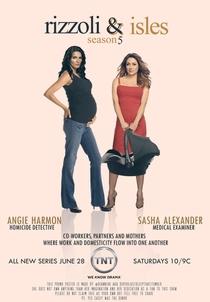Rizzoli and Isles (5ª Temporada) - Poster / Capa / Cartaz - Oficial 2