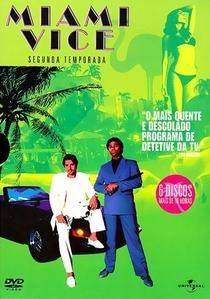 Miami Vice (2ª Temporada) - Poster / Capa / Cartaz - Oficial 1