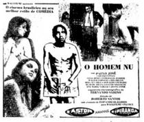 O Homem Nu - Poster / Capa / Cartaz - Oficial 1