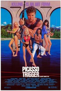 Picasso - Arisco No Gatilho - Poster / Capa / Cartaz - Oficial 1