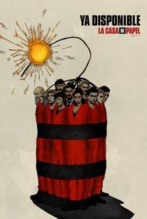 La Casa de Papel (Parte 4) - Poster / Capa / Cartaz - Oficial 3
