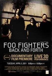 Foo Fighters: Back and Forth - Poster / Capa / Cartaz - Oficial 1