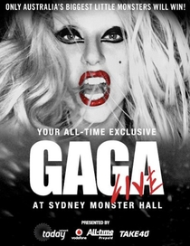 Lady Gaga Live at Sydney Monster Hall - Poster / Capa / Cartaz - Oficial 1