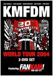 KMFDM: 20th Anniversary World Tour 2004 - Poster / Capa / Cartaz - Oficial 1