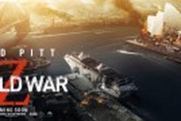 """Liberada a primeira cena de """"Guerra Mundial Z"""""""