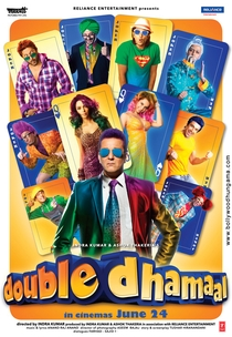 Double Dhamaal - Poster / Capa / Cartaz - Oficial 1