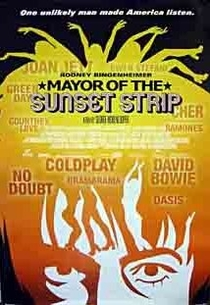 Mayor of Sunset Strip - Poster / Capa / Cartaz - Oficial 1