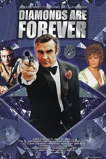 007 - Os Diamantes são Eternos - Poster / Capa / Cartaz - Oficial 8