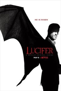 Lucifer (4ª Temporada) - Poster / Capa / Cartaz - Oficial 1