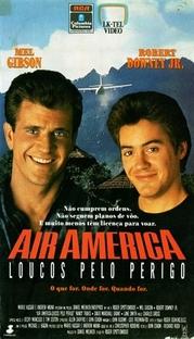 Air America - Loucos Pelo Perigo - Poster / Capa / Cartaz - Oficial 3